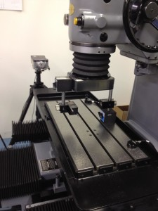 Moore Laser Calibration on Moore CNC Jig Grinder by 2SQ Industrial Supply